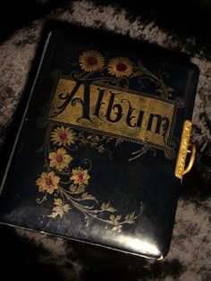 Gothic Victorian Cemetery Photo Album at by GothicRoseAntiques, $225.00