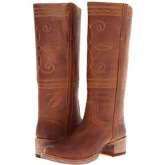Stetson Rustic Round Toe Stovepipe Boot