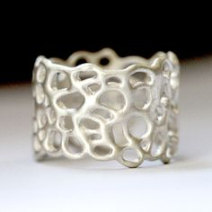 Lace Ring Sterling  by Lulu & Shay