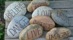 painting on rocks - Google Search