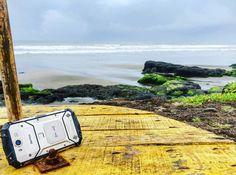 Finally in GOA after 10 days of ride.  #DigitalYatra powered by #Aermoo #HighwayMonks #goa #Beach #ahswembeach #Morjimbeach #Bardez #GoProIndia  #India #beaches #coast #Highways #sky #greeneyes #Nature #instavacation #instago #monsoon #Rainyseason #rains