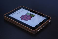 A home made tablet using Raspberry Pi. Very nice build.