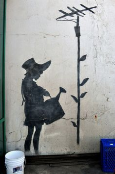 Girl With A Watering Can 2007