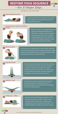 Bed Time Yoga Sequence for a Deep Sleep - Gesundheit Vinyasa Yoga, Ashtanga Yoga, Iyengar Yoga, Yoga Meditation, Yoga Flow, How To Get Sleep, How To Do Yoga, Wallpaper Yoga, Yoga Inspiration