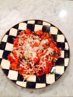 Katie Bee | A lifestyle blog skillet lasagna healthy lasagna easy healthy meal