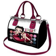Betty Boop Rockabilly Handtasche Schultertasche Umhängetasche Make up