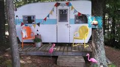 adding extra space by getting a camper, home improvement, outdoor living, After picture