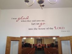 church foyer welcome center - Google Search