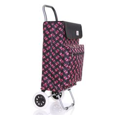 Karabar Moss Large Capacity Wheeled Shopping Shopper Travel Trolley Bag | eBay