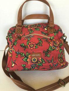 Sakroots Bag Crossbody Floral Designer Fashion Nature Hip Red | eBay