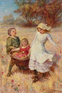 A Heavy Load by Frederick Morgan | Art Posters For Kids https://www.amazon.com/Painting-Educational-Learning-Children-Toddlers/dp/B075C1MC5T