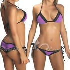 Purple lace bikini--just got this one!  Not a lot of bum coverage, I'll have to keep on my squats and lunges! #beach #honeymoon