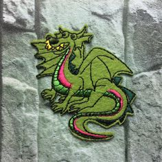 New to craftapplique on Etsy: Dinosaur patch Animal patch Embroidery patches patch Embroidered patch iron on patch sew on patch 67cm  A67 (1.90 USD)