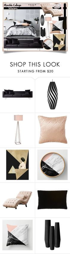 """""""Marbled Interiors"""" by teamfreewillspn ❤ liked on Polyvore featuring interior, interiors, interior design, home, home decor, interior decorating, Moooi, David Trubridge, Catalina and Donna Karan"""