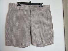 Lee Shorts Women's Polka Dots Size 16 Petite Just Below the Waist #Lee #CasualShorts