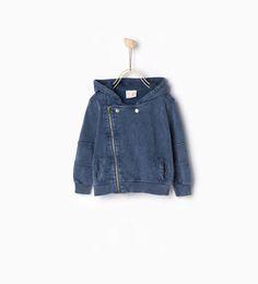 ZARA - COLLECTIE SS16 - Used sweatshirt met ritsen