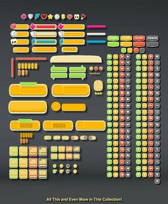 The Super Sprite Bundle Royalty-Free Character Art for Games, Apps or Animation. Free Characters, Money Games, Game Assets, User Interface Design, Game Ui, Free Games, Game Design, Pixel Art, Unity
