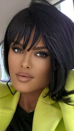 Most Beautiful Faces, Stunning Eyes, Stunning Women, Beautiful Black Women, Brunette Beauty, Hair Beauty, Dark Hair, Beauty Women, Curly Hair Styles