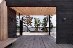 JOARC I ARCHITECTS • Holiday Villas • scandinavian summerhouse, finland, mökki, black timber