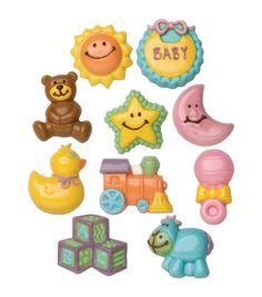Wilton® Candy Mold 2/Pkg-Baby