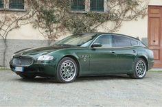 Auction: 2009 Maserati Quattroporte Wagon Has Hidden Shotgun Holder - WOT on Motor Trend