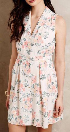 Spring Bouquet Petite Dress