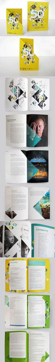 Print - Brochure - Géométrique