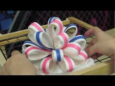 How To Make A Multi-Loop Bow The Krazy Kool Way! Part Four
