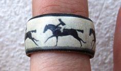 Eadweard Muybridge Running Horse and Rider  by HutchMade