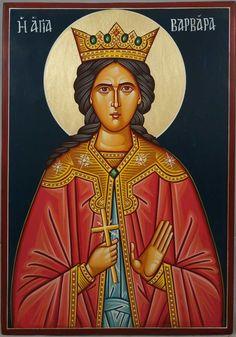 St Barbara Hand-Painted Orthodox Icon