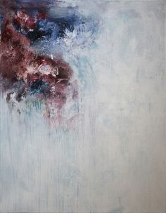 o.T 2014-07   Acryl auf Leinwand   90x70cm