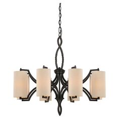 I pinned this Lincoln Chandelier from the Savoy House event at Joss and Main!