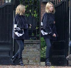 Kate Moss look con media melena