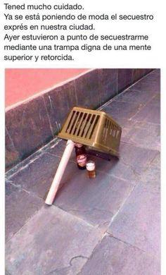 Secuestro exprés en nuestra ciudad. #humor #risa #graciosas #chistosas #divertidas
