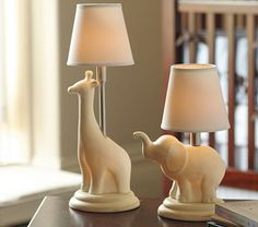 Ceramic Nursery Complete Lamps #PotteryBarnKids