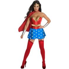 Halloween Costume Ideas: New Wonder Woman Costumes For Women