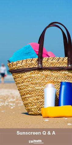 How often do I apply my sunscreen? What SPF strength should I be using? Get answers to your questions about sunscreen.