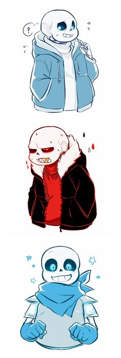 Sans - Underfell and Underswap