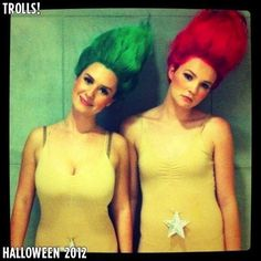 Love the trolls!! The 25 Best-Ever Halloween Costumes Of BuzzFeed Readers