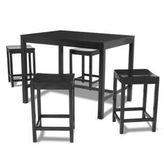 Parsons Counter-height Dining Table   Overstock™ Shopping - Great Deals on dorel asia Dining Tables
