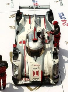 Audi R18 e-Tron Quattro The engineering on this is amazing