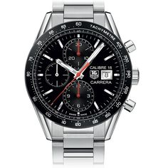 TAG Heuer TAG Heuer CARRERA 100M Calibre 16 Automatic Chronograph 41MM Buy or order now by calling 813-875-3935! Ask for Darren