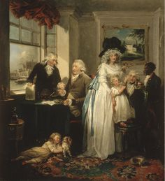 Artist: George Morland (English) Title: Fruits of Early Industry and Economy Date: 1789 Location: Philadelphia Museum of Art