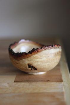 hello hydrangea: Wood Turning