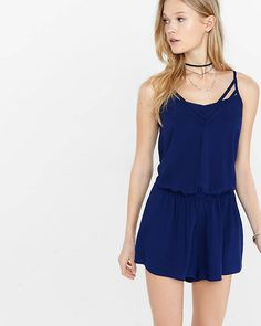 Strappy Cami Romper from EXPRESS
