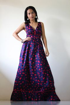 Long Summer Maxi Dresses Sixtfeu   Fashion American Style Wallpaper
