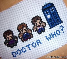 Doctor Who Cross Stitch Pattern PDF INSTANT by XStitchMyHeart, £2.25