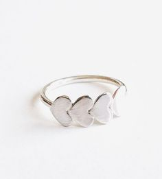 Eternity Heart Stacking Ring by Cindy Liebel
