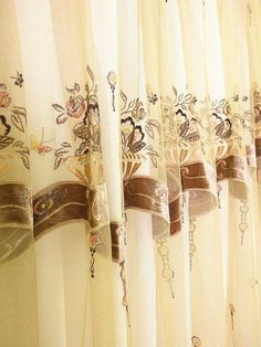 Highend  French lace 112 inches length chocolate by Eleptolis, $220.00