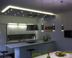 i-Led spacious and simple kitchen